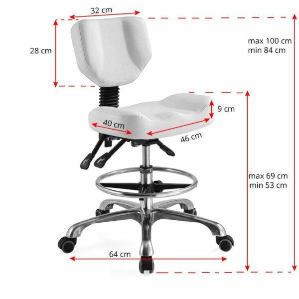FAME Kozmetička stolica PROFESIONAL